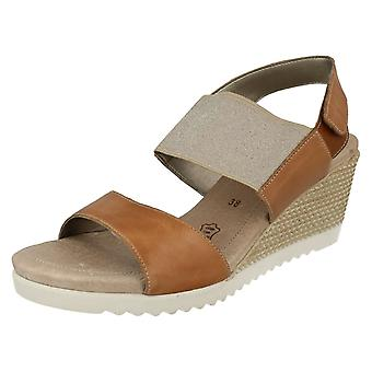 Ladies Remonte Wedge Heeled Sandals D3458