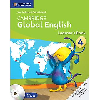 Cambridge Global English Stage 4 Learner's Book with Audio CD (2) (Cambridge International Examinations) (Paperback) by Boylan Jane Medwell Claire