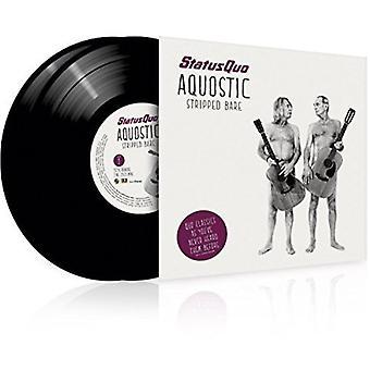 Status Quo - Aquostic/Stripped Bare [Vinyl] USA import