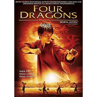 Four Dragons [DVD] USA import