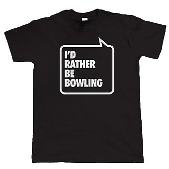 Vectorbomb, ich würde eher sein Bowling, Mens Funny T-Shirt (S bis 5XL)