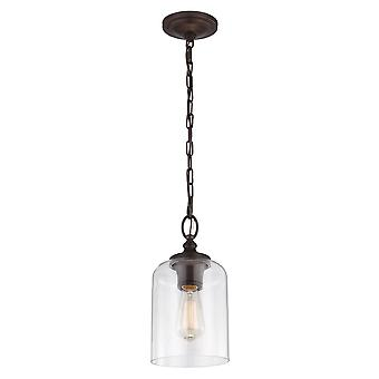 Feiss Hounslow Mini Pendant Oil Rubbed Bronze