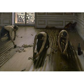 Gustave Caillebotte - Boden Planer Poster Print Giclee