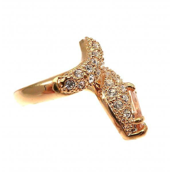 W.A.T Gold Style Serpent Ring