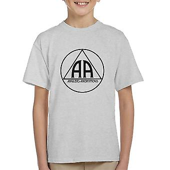 Anglers Anonymous AA Logo Kid's T-Shirt