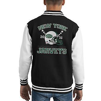 Fabeldyr League New York Jarveys Kid's Varsity jakke