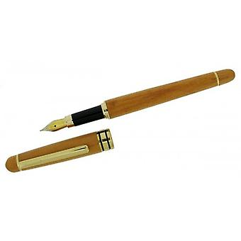 Gift Time Products Cartridge Pen - Light Brown/Gold