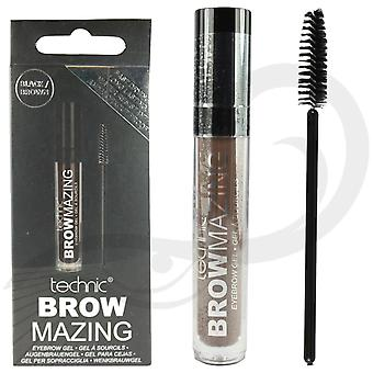 Technic Brow Mazing sourcil Gel brun moyen