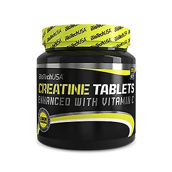 BiotechUSA Creatine Tablets Lemon Flavor 200 gr (Sport , Amino acids)