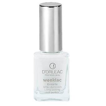 D'Orleac Nail Polish Weeklac No. 0 - White (Femme , Maquillage , Ongles , Vernis)