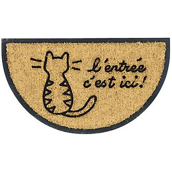 Derrière la Porte Crescent Carpet Cat Entree (Home , Textile , Doormats)