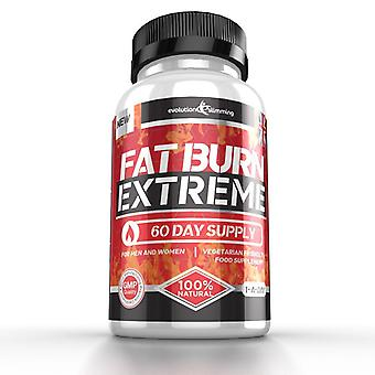 Fat Burn Extreme High Strength Weight Loss Supplement - 60 Capsules - Fat Burner - Evolution Slimming