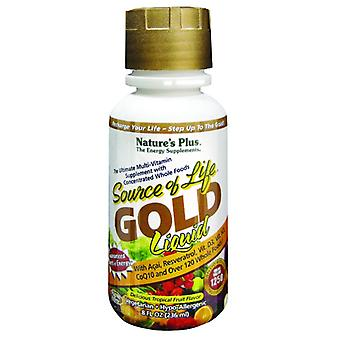 Natures Plus Source of Life GOLD Liquid, 8oz