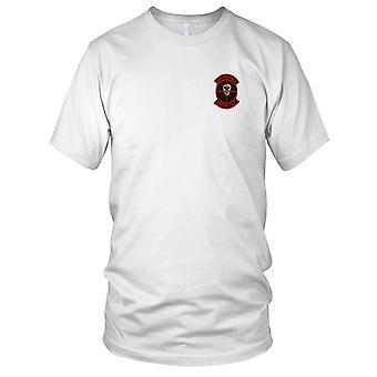 USMC 3rd Marines Sniper Platoon - Military Vietnam War Embroidered Patch - Ladies T Shirt
