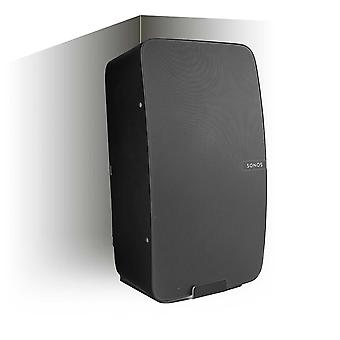Vebos corner wall mount Sonos Play 5 gen 2 black - vertical