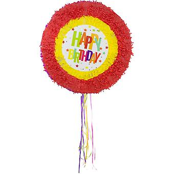 Piñata happy birthday birthday party candy Mexico hiding children birthday party game