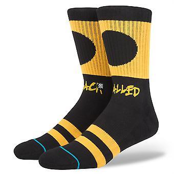 Haltung Herren Socken ~ Black balled
