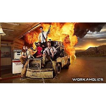 Bourreaux de travail - Voir la TV affiche Poster Print