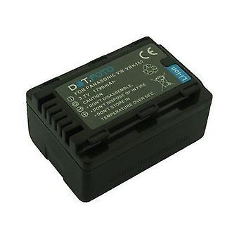 Dot.Foto Panasonic VW-VBK180, VW-VBK180E-K Replacement Battery - 3.7v / 1790mAh