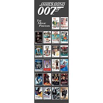 James Bond - Movie Poster tirages - porte affiche Poster Print