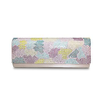 Lunar Columbia Multicolored Clutch Bag