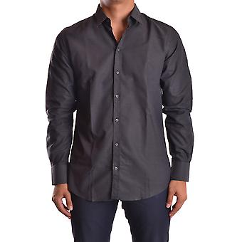 Dolce E Gabbana men's MCBI099119O black cotton shirt