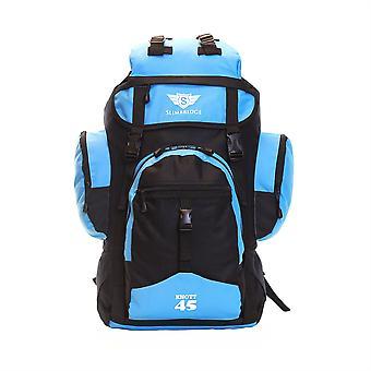 Slimbridge Knott 45 litros jansport mochila, negro/azul