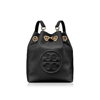 Tory Burch women's 46237001 black leather backpack