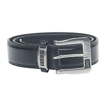 Duke Mens Kenny Bonded Leather Metal Buckle Belt