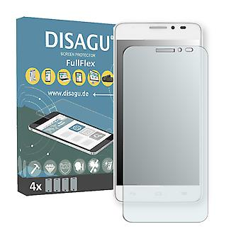 Alcatel one touch Idol X + screen protector - DISAGU FullFlex protector
