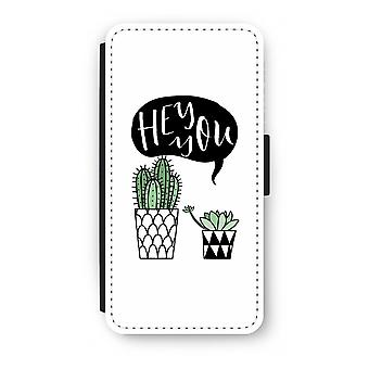 Samsung Galaxy S8 Plus Flip Case - Hey you cactus