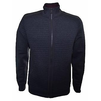 Ted Baker Ted Baker Men's Ken Charcoal Quilted Bomber Jacket