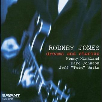 Rodney Jones - Dreams & Stories [CD] USA import