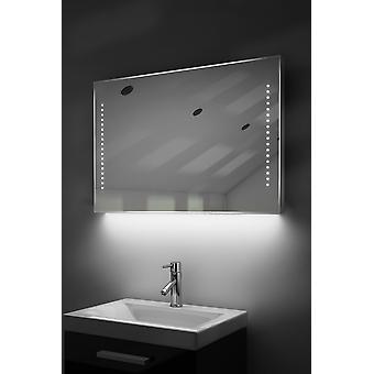 Ambient Ultra-Slim LED Bathroom Mirror With Demister Pad & Sensor K61
