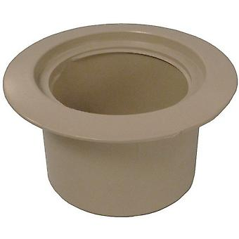 Waterway 519-6719-BEI Volleyball Pole Holder Flange - Beige