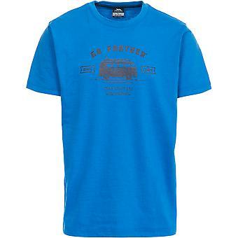 Trespass Mens Space Short Sleeve Printed Casual Sports T-Shirt