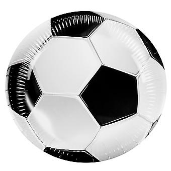 Boland Football Paper Plates World Cup Party Celebration Tableware 6 Pack