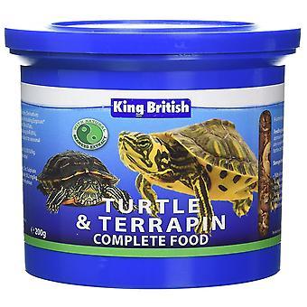 Roi britannique tortue et Terrapin alimentaire 200 g