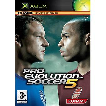 Pro Evolution Soccer 5 (Xbox)