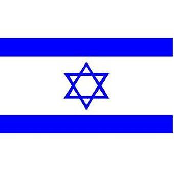 Israels Flag 8 ft x 5 ft med øjer til ophæng
