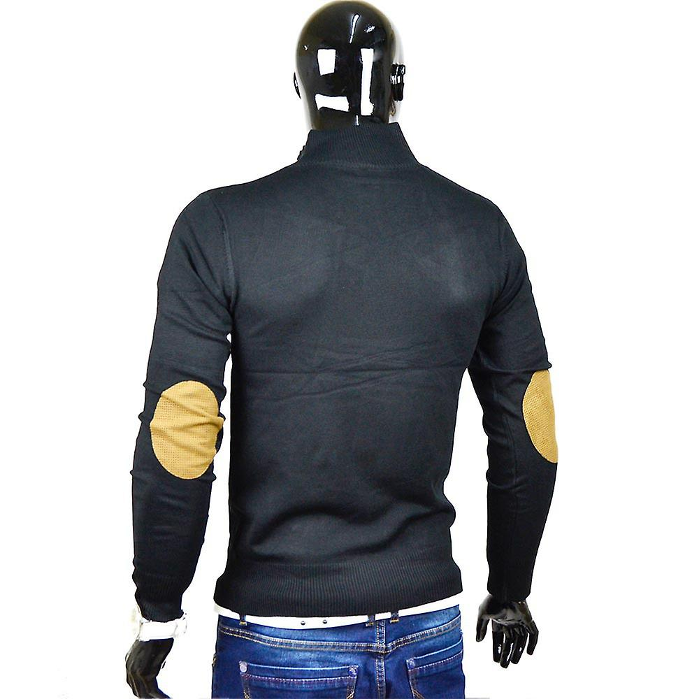 Herren Pullover Strick Japanstyle Sweat Shirt Stehkragen Sweatshirt