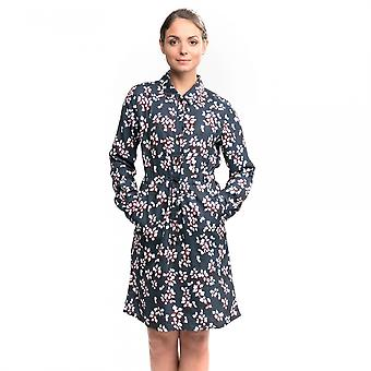 French Connection Eva Crepe 3/4 Sleeve Shirt Womens Dress
