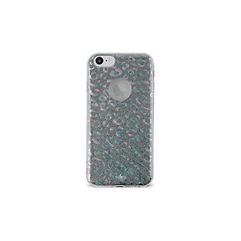 Puro iPhone 8/7/6/6S, Glitter Shine Leo Cover, regnbåge