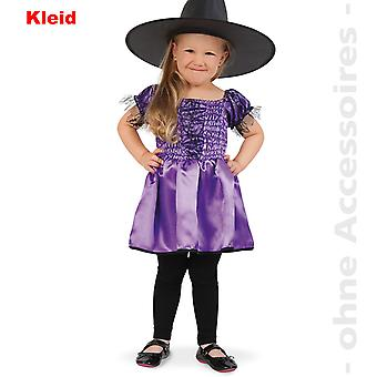 Hexe Kinder Hexenkostüm Hexenkleid Kostüm Halloween Zauberin Kinderkostüm