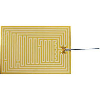 Thermo Polyester Heating foil self-adhesive 12 Vdc, 12 V AC 90 W IP rating IPX4 (L x W) 335 mm x 230 mm