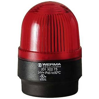 Rouge lumineux Werma attention 202.100.68