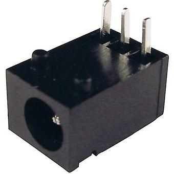 Cliff DC-8N Low power connector Socket, horizontal mount 3.75 mm 1.3 mm 1 pc(s)