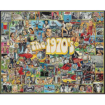 The Seventies 1000 Piece Jigsaw Puzzle 760Mm X 610Mm
