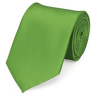 Cravatta cravatta cravatta 8cm di erba verde verde uni Fabio Farini