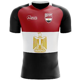 2018-2019 مصر العلم مفهوم كرة القدم قميص (الأطفال)